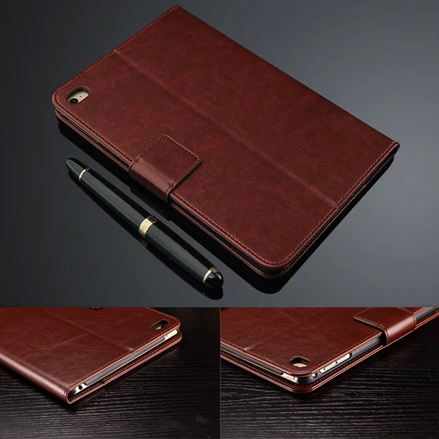Luxury Leather Case for Apple iPad mini4 High Quality Fashion cases Flip Cover for iPad mini 4 Tablet PC Cover 7.9inch