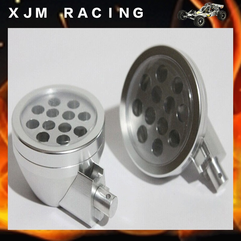Aluminum Light Pods Fits HPI BAJA 5B 5T SS 2.0 KING MOTOR 1/5 Scale Buggy Truck source igntion coil fits rcmk baja hpi cy zenoah g260 g270 g290 pu pum puh