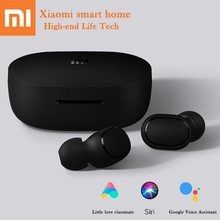 Hot Xiaomi Redmi AirDots Wireless Bluethooth Earphones Language Control Earplug Automatic pairing mini headsets smart control(China)