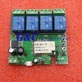 AC 5-32 В Wi-Fi Беспроводной Реле Задержки Модуль 4-way управления для Смарт-Hom