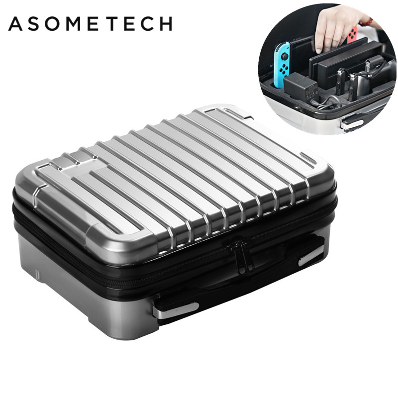 Storage Bag Suitcase For Nintend Switch Hard Shell Protective Case For Nintendo Switch Console NS Travel Outdoor Carrying Box