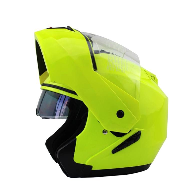 ВОСС полное лицо шлем мотоциклетный шлем флип вверх шлем с внутренним солнцезащитный козырек кросс-кантри шлем шоссе для взрослых