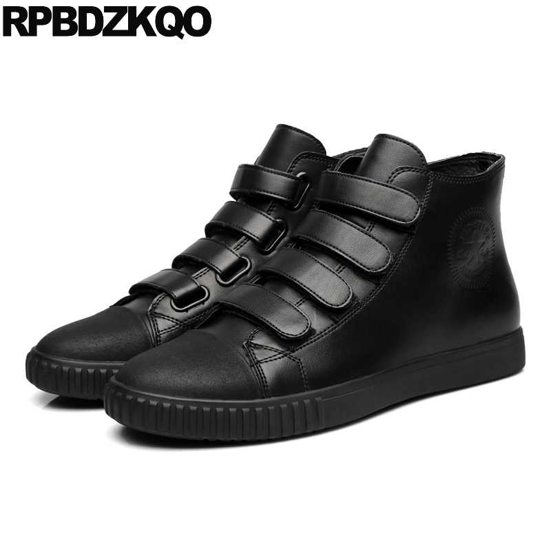 Winter Spring And Autumn Black Hip Hop Trainers Rubber Sneakers 2018 Skate  Designer Comfort Men Shoes 595f01dc4672