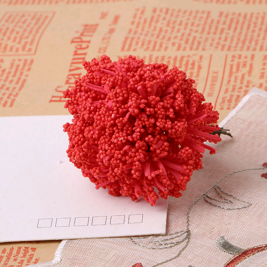 DIY wreath flowers heart PE day sky dried flowers leek flowers garland rattan wreath material hi sugar box accessories