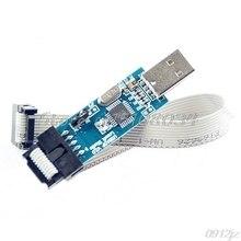 1Pc USB ISP Programmer For ATMEL AVR ATMega ATTiny 51 Development Board parts avr development board atmega128a au 8 bit risc avr atmega128 development board 11 accessory kits openm128 package b