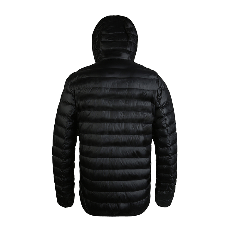 Men's White Duck Down Jacket - AIRGRACIAS 1