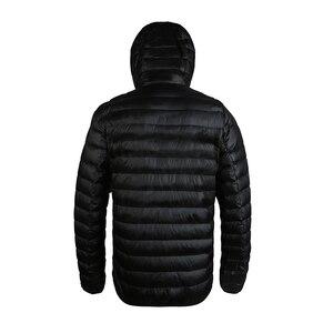 Image 2 - Airgracias 2017 Новое поступление белая утка Пух куртка Для мужчин осень зима теплое пальто Для мужчин свет тонкий утка пуховое пальто LM005