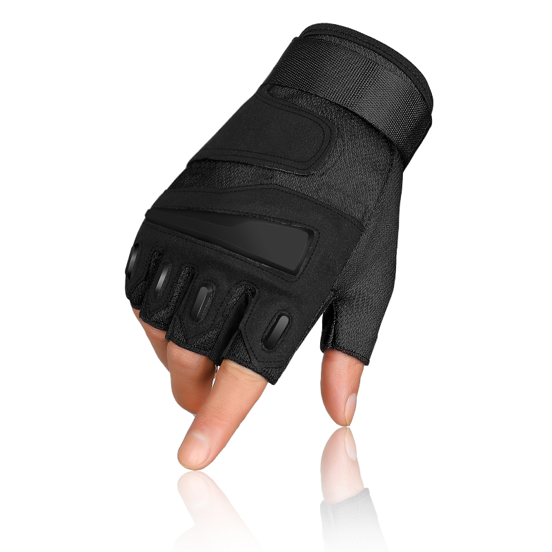 Half-finger Gloves Tactical Outdoor Riding Men Women Children Adjustable Motion Climbing Gloves Fitness Gloves Non-slip Wear