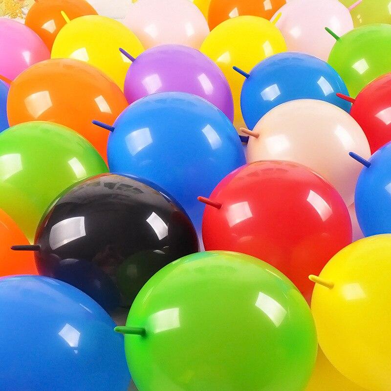 10 buc Latex crap baloane groase baloane petrecere ziua de nastere Crăciun decorare cozile rotunde forma balon Partidul Baloane zile de naștere