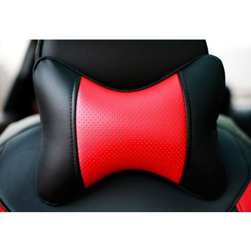 Cubierta de asiento de cuero para Toyota RAV4 PRADO Highlander - Accesorios de interior de coche - foto 6