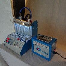 Ультразвуковая машина для очистки топливных инжекторов 220V 110V с 6 цилиндрами для очистки бензиновых инжекторов