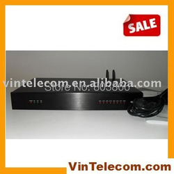 Wireless Telephone PABX system / Wireless Phone System / GSM Wireless PBX / TS+308 support 2 GSM SIMs 1 PSTN land line and 8 Ext