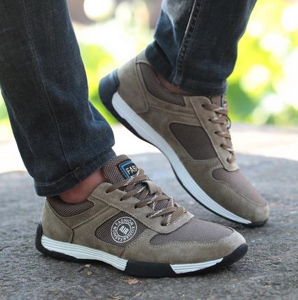 Primavera cómodo Retro running shoes zapatillas de deporte de los hombres de Cue