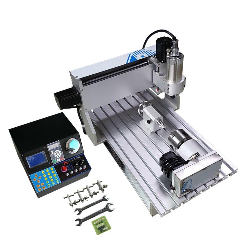 Fraiseuse de routeur de la machine 6040 CNC de gravure de 4 axesFraiseuse de routeur de la machine 6040 CNC de gravure de 4 axes