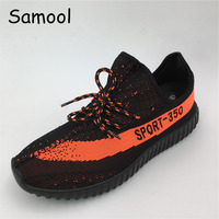 Men Shoes Summer Size 36 44 Breathable Round Toe Fashion Style Male Mesh Shoes Lace Up