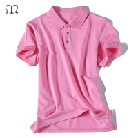 Pink Polo Men 2017 New Brand Solid Polos Mens Top Shirts Cotton Short Sleeve Camisas Casual