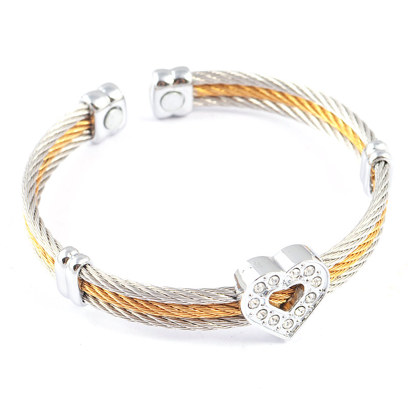Buy silver cable bracelet and get free shipping on AliExpress.com