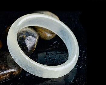 Bracelet Jonc Jade Blanc