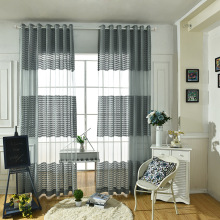 Wave Polyester Curtain Living