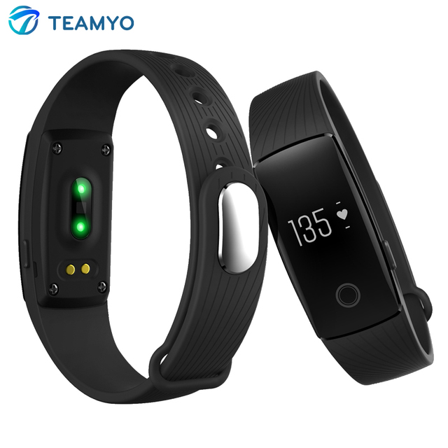 Original ID107 Heart Rate Monitor Cardiaco Smart wristband Fitness Tracker Bracelet Pulsometro for iPhone Samsung Xiaomi Phone