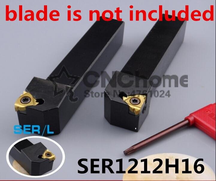 SER1212H16/ SEL1212H16 12*12 100mm CNC External Threading Tool Holder,Turning Tools Of Threaded For 16ER Inserts,type SER