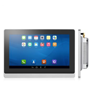 IP65 Embedded Industrial Touch screen panel pc 10inch all in one pc with capacitive touch