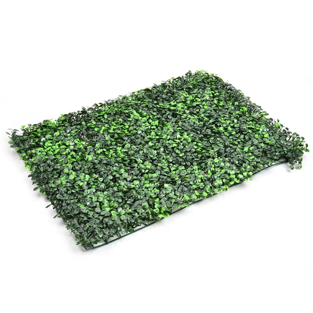Emulational Artificial Ivy Leaf Plastic Garden Lawn Grass 60 * 40 Cm Artificial Grass Miniature Party Decoration Wall Background