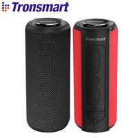 Tronsmart T6 Plus Bluetooth Lautsprecher 40 W Tragbare Lautsprecher Tiefe Bass Soundbar mit IPX6 Wasserdicht, Power Bank Funktion SoundPulse