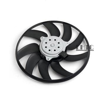 De refrigeración del radiador secundaria derecho ventilador pequeño de 350mm/200 W para Audi A4 S4 B8 A5 Q5 OE # 8K0959455F