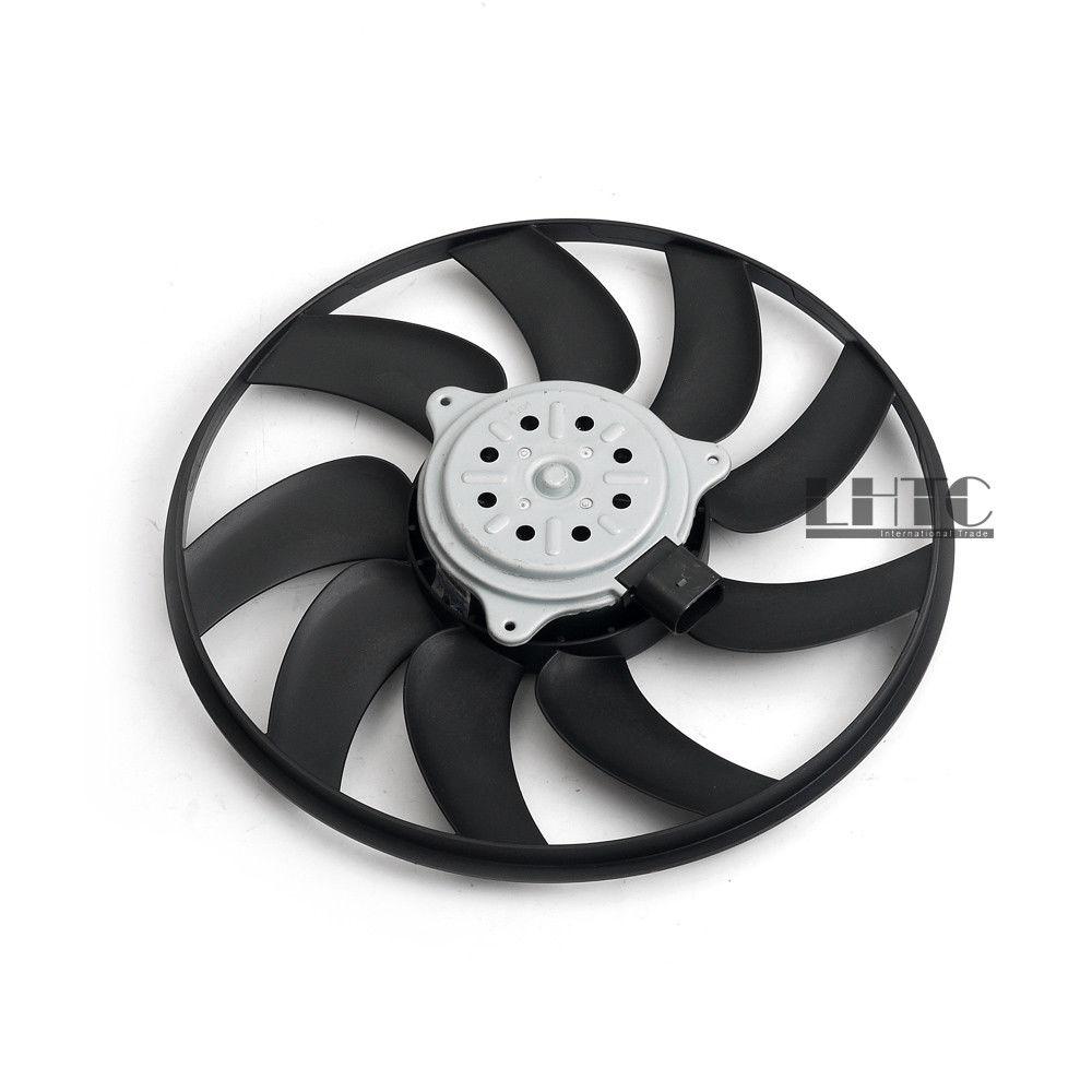 Radiateur refroidissement ventilateur secondaire droit petit 350mm/200 W pour Audi A4 S4 B8 A5 Q5 OE # 8K0959455F