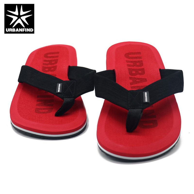 0a592db1f 2019 URBANFIND Beach   House Slippers Men Fashion Flip Flops Size 41 46  Designer Man Casual Summer Shoes-in Flip Flops from Shoes on Aliexpress.com  ...