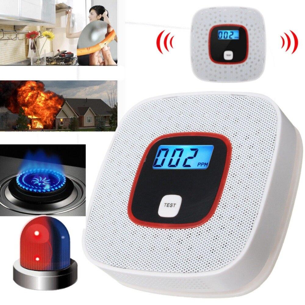 CO Carbon Monoxide Alarm Detector LCD Digital Home Security Indepedent Sensor Safety safurance co carbon monoxide alarm detector lcd digital home security indepedent sensor safety