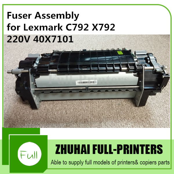 Factory Price! Fuser Fixing assembly for Lexmark C792 X792 40X7101 220V chip for lexmark optra xs 658dme for lexmark x 658de for lexmark 0t65x replacement digital copier chips free shipping