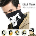 20pcs Skull Ghost Face Windproof halloween CS Cosplay skullies Outdoor Sports Warm Ski Caps Bicycle Balaclavas Scarf Motorcycle