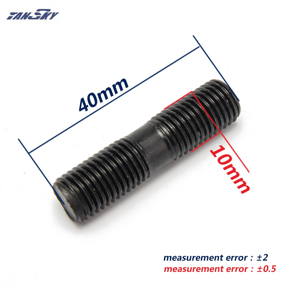 9 x стержня комплект M10x1.25 для Mitsubishi Evo RHF5HB VF22, VF30, VF34 турбины l: 40 мм TK-CGQ207
