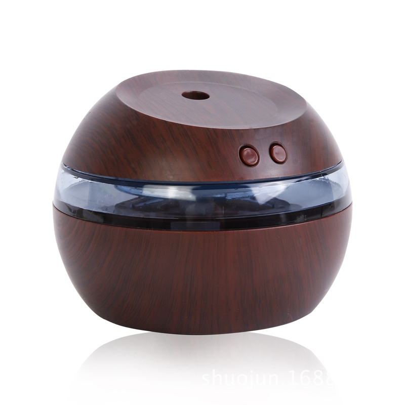 Usb Ultrasonic Humidifier,290Ml Aroma Diffuser Essential Oil Diffuser Aromatherapy Mist Maker With Blue Led Light