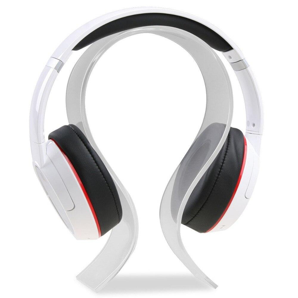 Acrylic Headphone Stand Display Headphone Holder Headphone Hanger Headset Hanger Support - Suitable For All Headphone Sizes