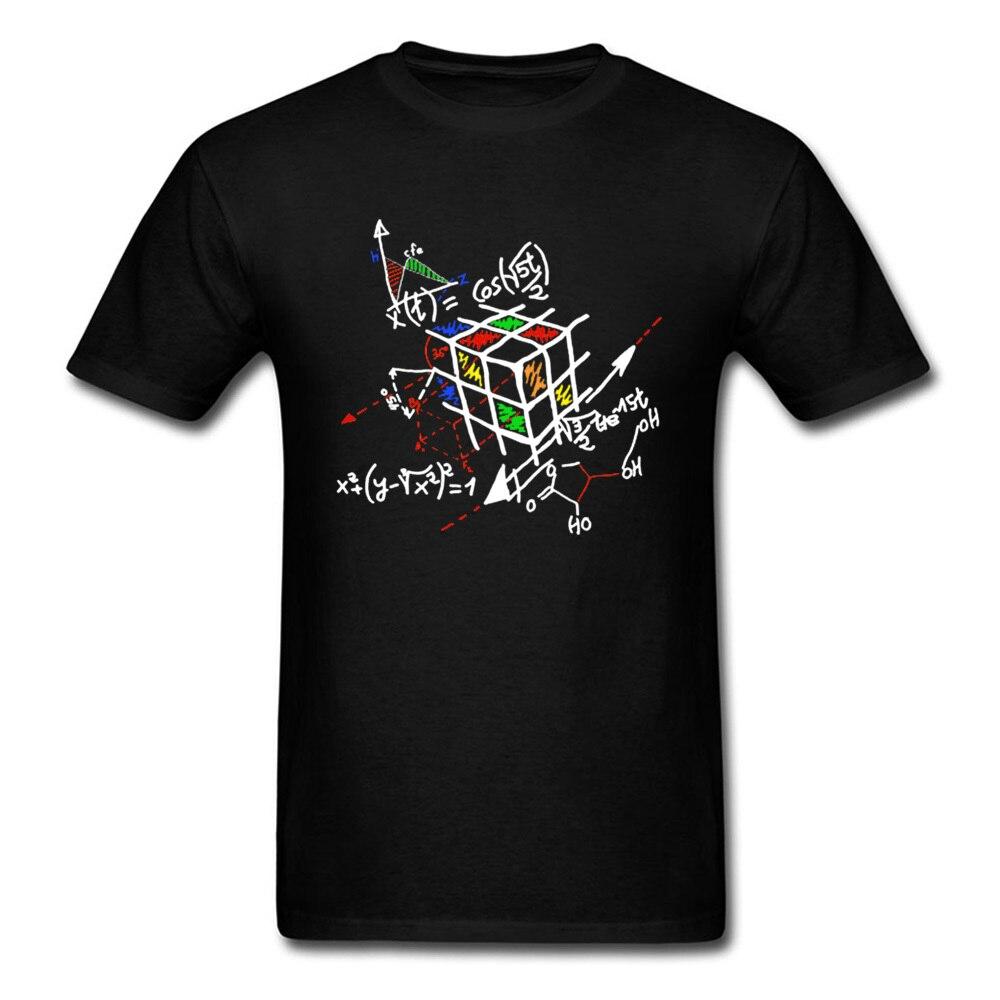 Designer Geometric Cube Rainbow Math Magic T Shirts Factorization Cellular Relativity The Big Bang Theory Funny Tshirt Men