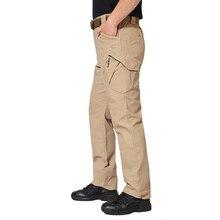 IX9(II) тактические боевые брюки мужские походные охотничьи брюки SWAT камуфляжные военные брюки карго армейские брюки
