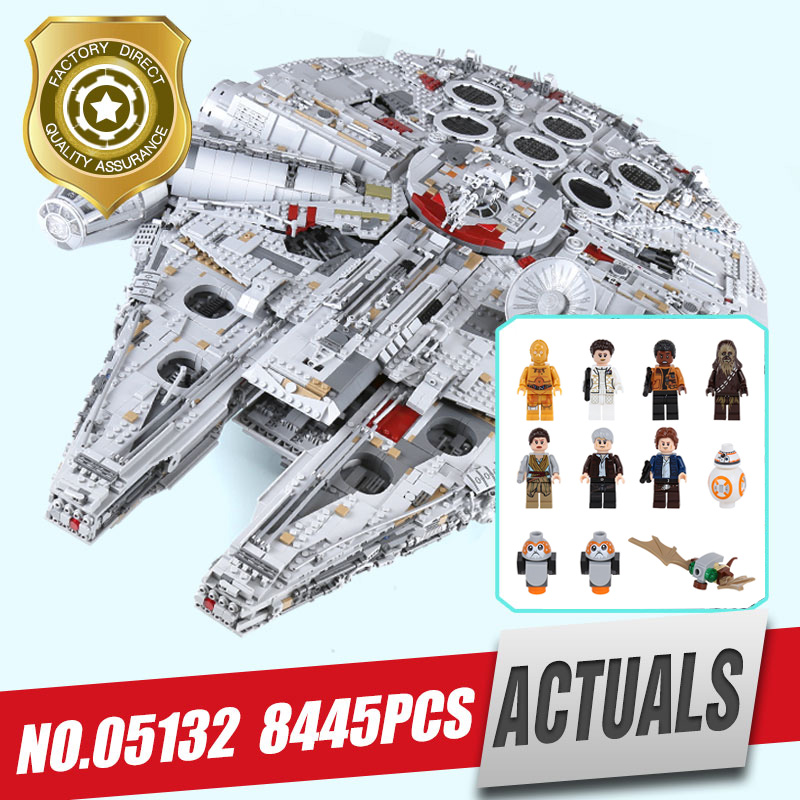 lepin 05132 star toys wars  destroyer millennium falcon compatible with LegoINGlys 75192 bricks model building blocks for kids lepin 05028 3208pcs star wars building blocks imperial star destroyer model action bricks toys compatible legoed 75055