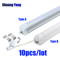 Integrated Led Tube Lights T8 220V 240V 600mm 2ft for Home High Power Led Energy Saving Lamp