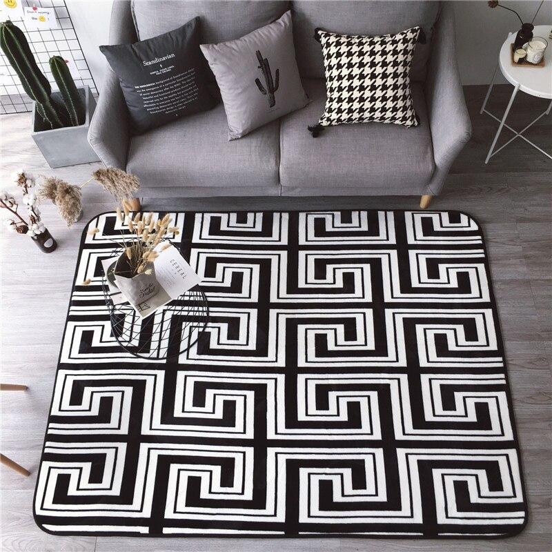 Nouveau haute qualité Falla Rong Style Simple tapis tapis grande taille maison Rectangle tapis salon tapis épaissir salon tapis Art décor