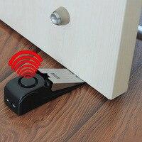 Door Stop Alarm Bell Security Doorstop Wedge Siren Alert