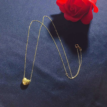 Jewelry 24K gold   3D/999% gold Necklac Wedding gifts HI007 3