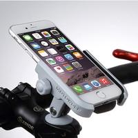 Universal Aluminum Alloy Rotary Axis Phone Holder For iPhoneX 8 7 6 Support Telephone Holder For GPS Bike Phone Handlebar Holder