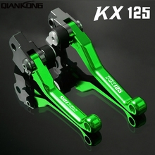 Motorcycle Accessories Dirt bike brakes Motorcycle Brake Clutch Levers FOR KAWASAKI KX125 KX 125 KX-125 2006 2007 2008 motorcycle engine parts connecting rod crank rod conrod kit for kawasaki kx 125 kx125 kdx 125 kdx125 1988 1991