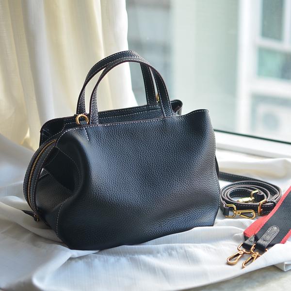Prix pour Mode doux de doux et souple en cuir bandoulière casual tout-allumette femmes de sac à main véritable sac à main en cuir
