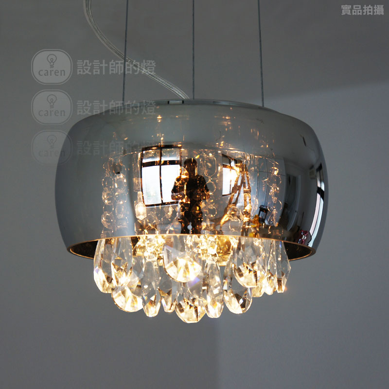 Brief modern bedside entranceway table l& crystal teardrop pendant light mirror free shipping-in Pendant Lights from Lights u0026 Lighting on Aliexpress.com ... & Brief modern bedside entranceway table lamp crystal teardrop pendant ...