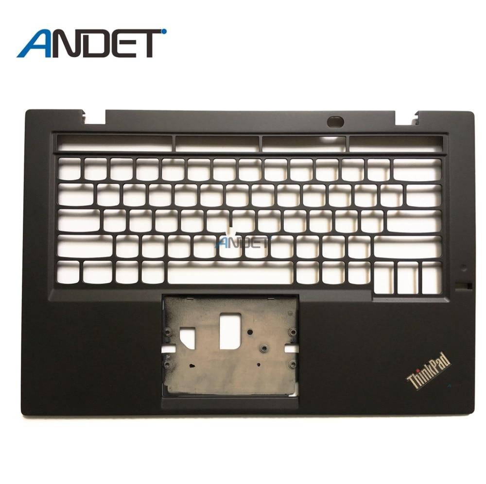 Original For Lenovo ThinkPad X1 Carbon 3rd Palmrest Keyboard Bezel Upper Case KB Bezel Cover laptop lenovo thinkpad x1 carbon type 34xx keyboard win8 backlit palmrest cover icelandic 00ht016 portuguese 00ht022