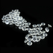 1000pcs/lot Acrylic Clear 10mm  Diamond Confetti